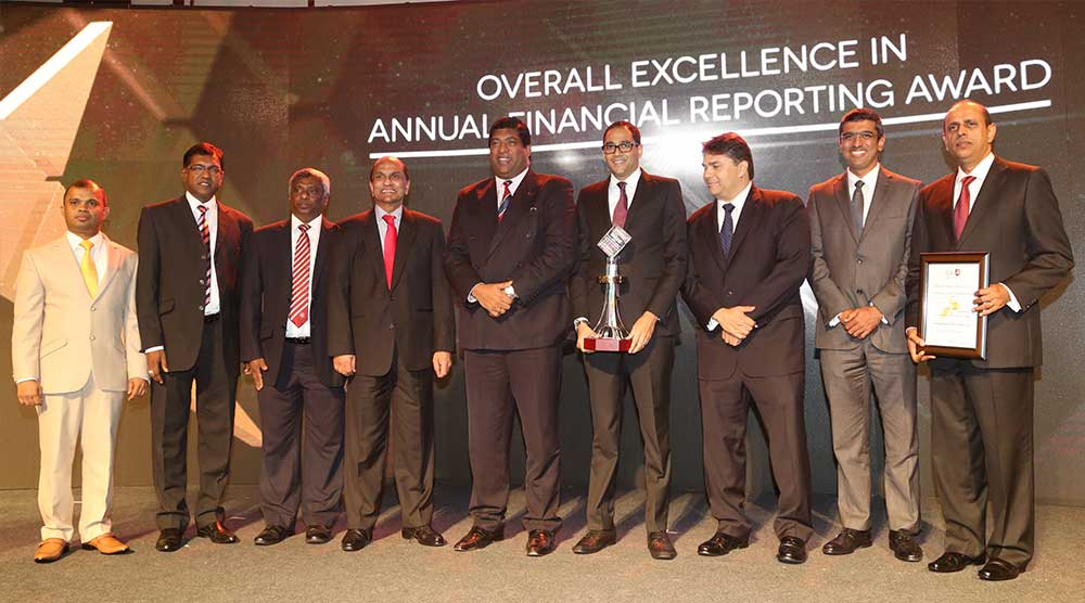 John Keells Holdings PLC wins overall Gold at the CA Annual Report Awards 2016